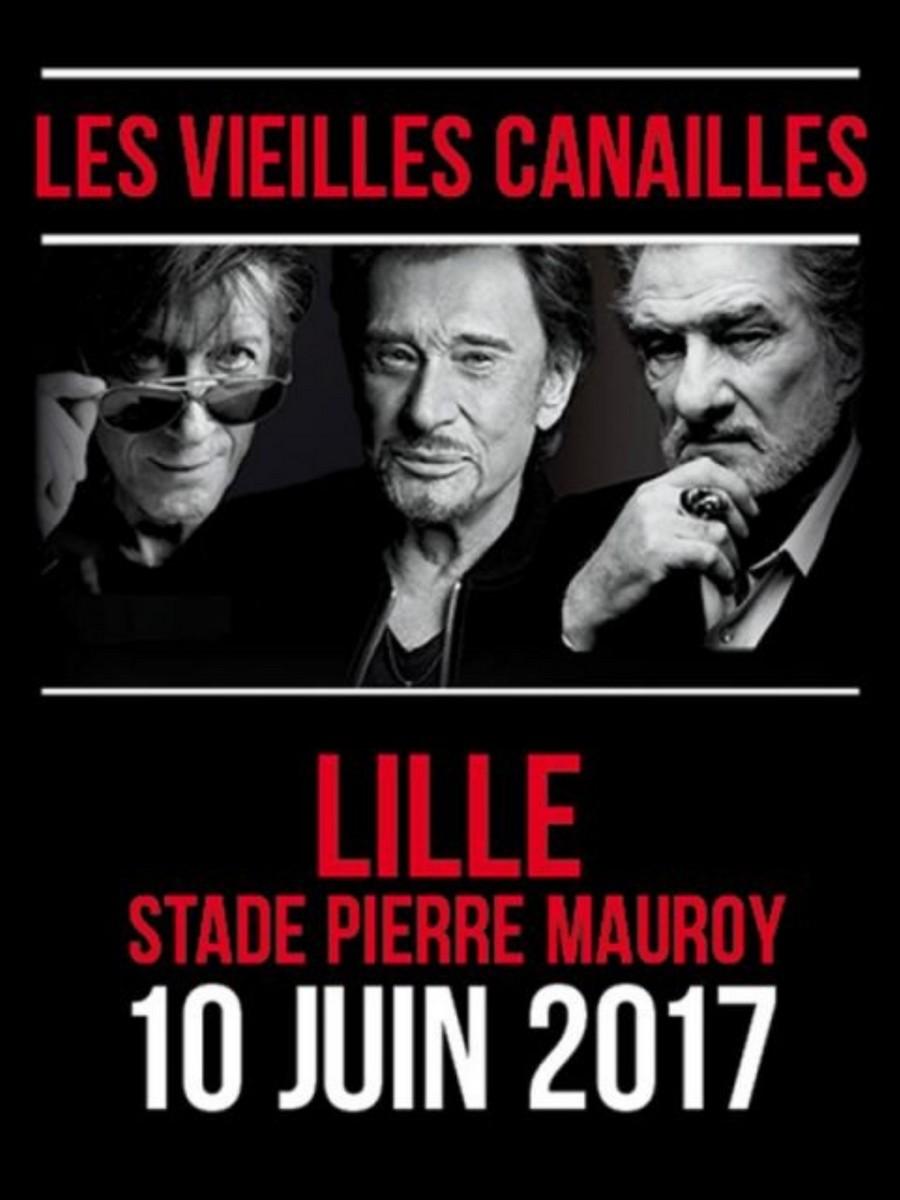LES CONCERTS DE JOHNNY 'LES VIEILLES CANAILLES' - 'LILLE 2017' Sans1179