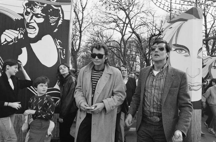 LES CONCERTS DE JOHNNY 'PRINTEMPS DE BOURGES 1985' Sans1242