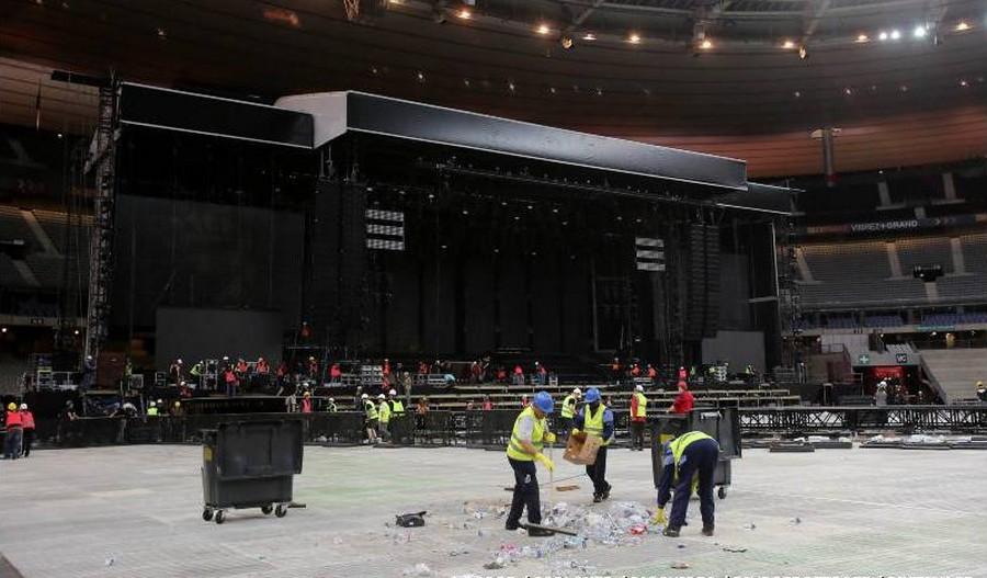 LES CONCERTS DE JOHNNY 'STADE DE FRANCE, SAINT-DENIS 2012' Sans1349