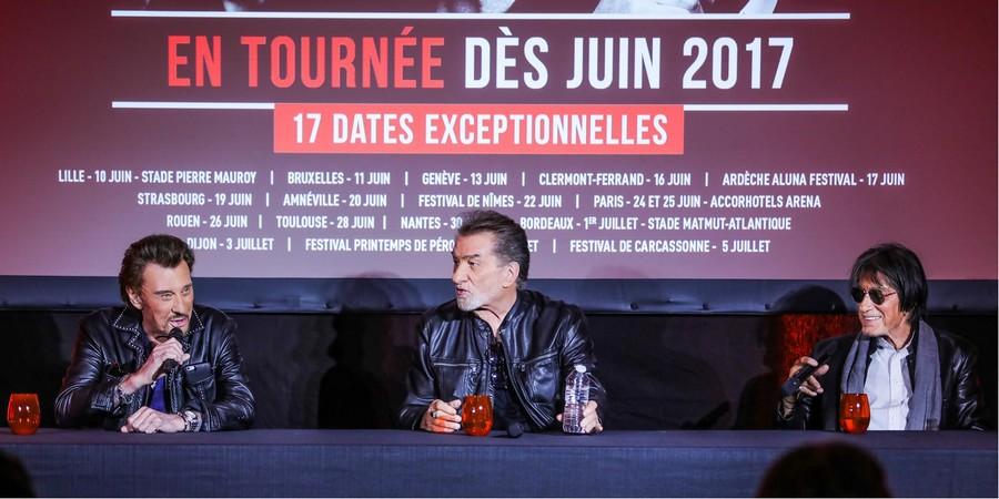 LES CONCERTS DE JOHNNY 'LES VIEILLES CANAILLES - 'TOULOUSE 2017' Sans1364
