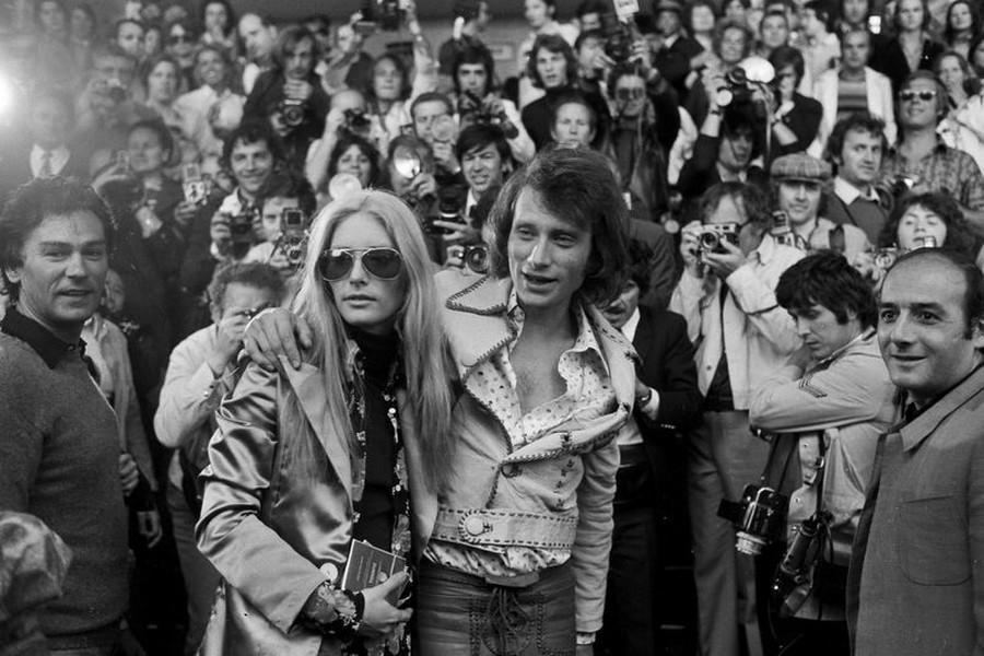 LES CONCERTS DE JOHNNY 'TOURNEE JOHNNY CIRCUS 1972' Sans1851