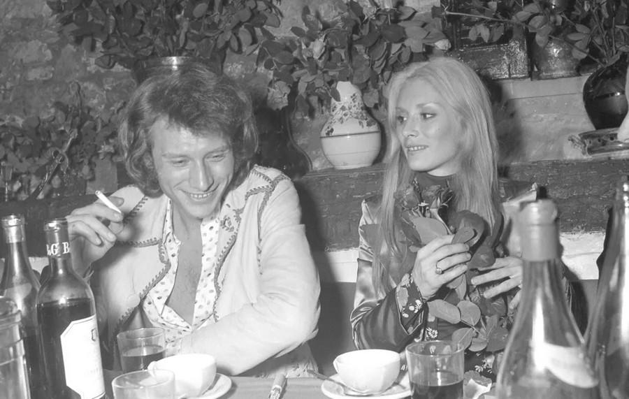 LES CONCERTS DE JOHNNY 'TOURNEE JOHNNY CIRCUS 1972' Sans1856