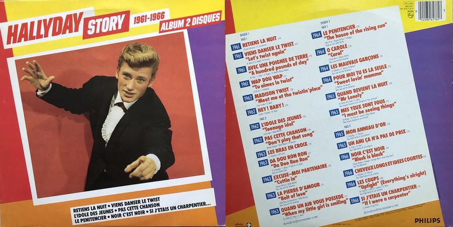 HALLYDAY STORY ( ALBUMS 2 DISQUES )( TOUTES LES EDITIONS )( 1973 - 1988 ) Sans1864