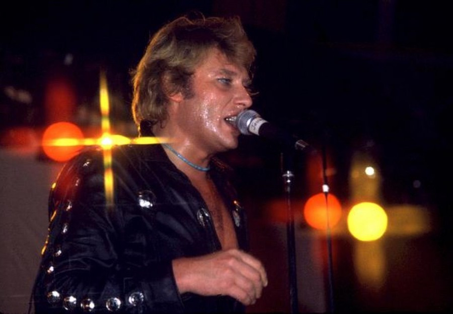LES CONCERTS DE JOHNNY 'TOURNEE NIGHT RIDER BAND TOUR 1981' Sans2058