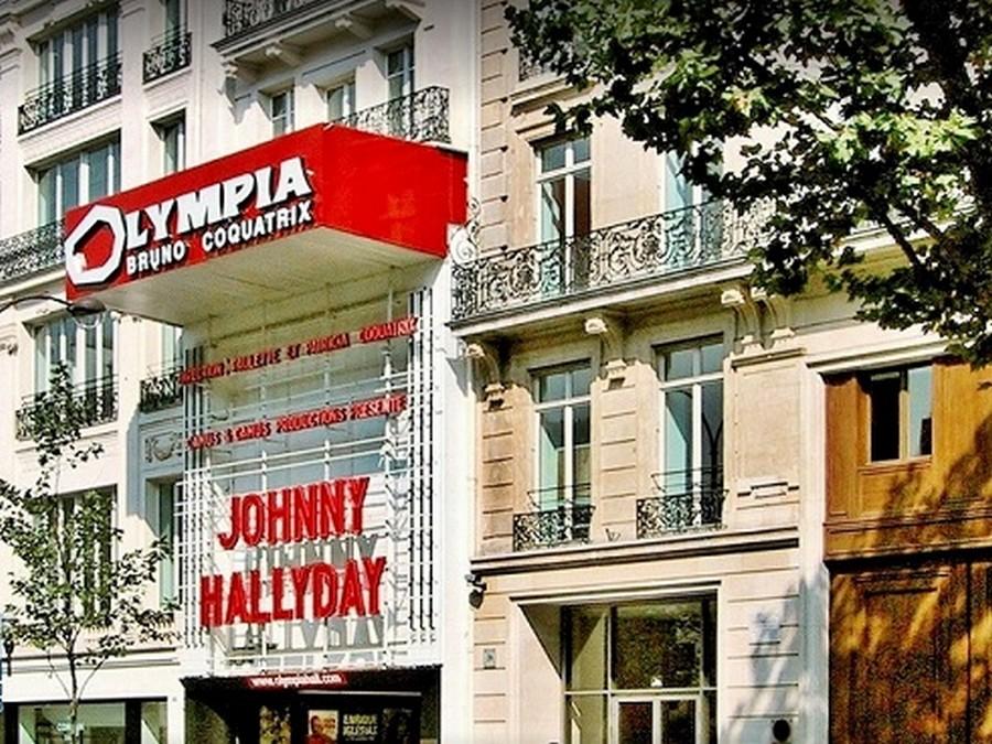 LES CONCERTS DE JOHNNY 'OLYMPIA DE PARIS 1966' Sans2133