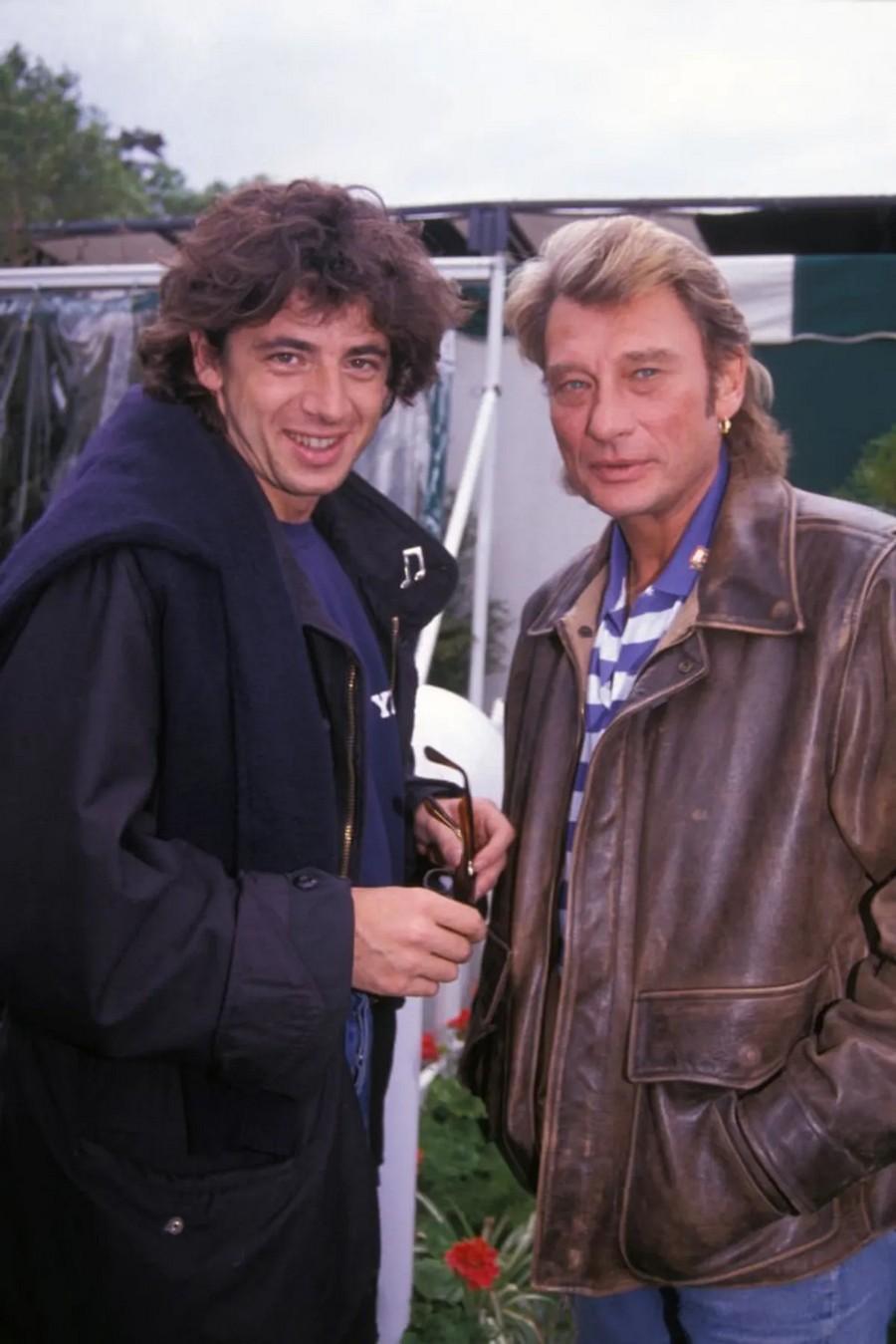 LES CONCERTS DE JOHNNY 'PARIS-MOSCOU, PLACE DE LA NATION 1991' Sans2539