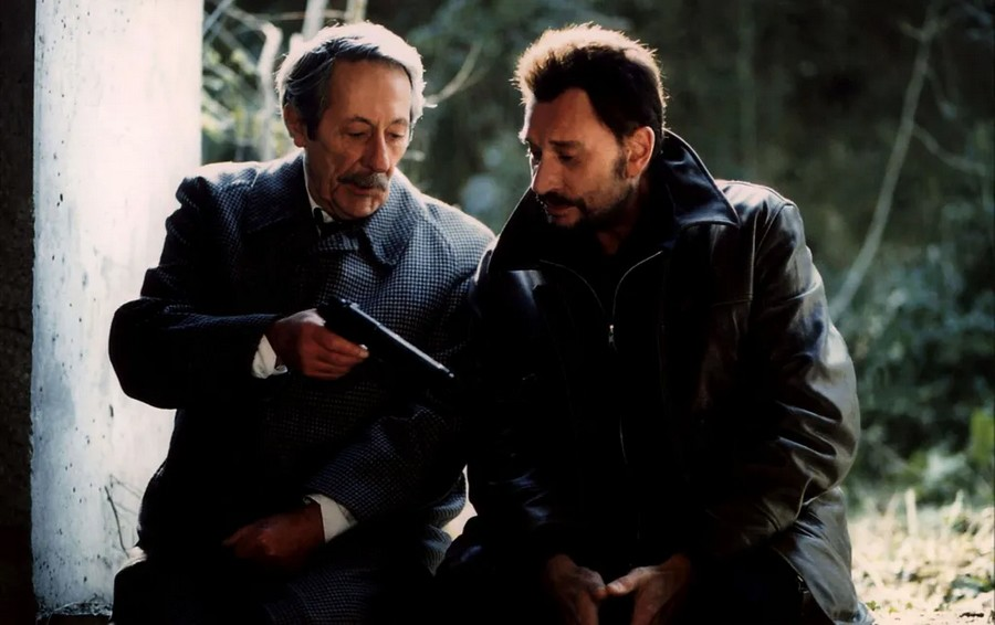 LES FILMS DE JOHNNY 'L'HOMME DU TRAIN' 2002 Sans2577