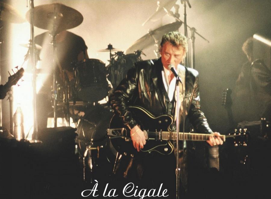 LES CONCERTS DE JOHNNY 'LA CIGALE, PARIS 1994' Sans2643