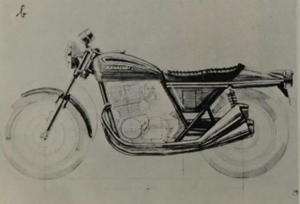 KAWASAKI 900 Z1 DE JOHNNY HALLYDAY ( 1974 ) Sans_138