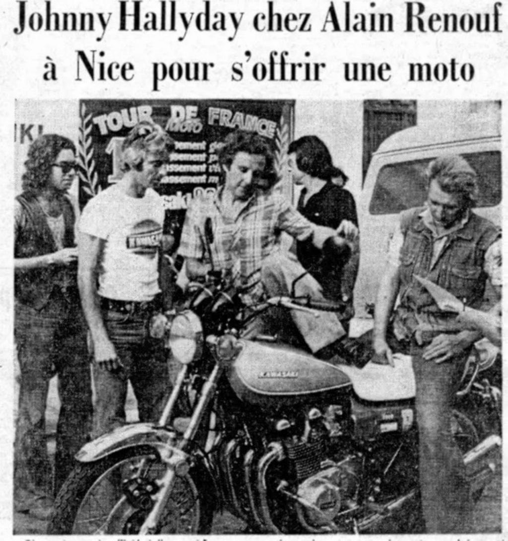 KAWASAKI 900 Z1 DE JOHNNY HALLYDAY ( 1974 ) Sans_143