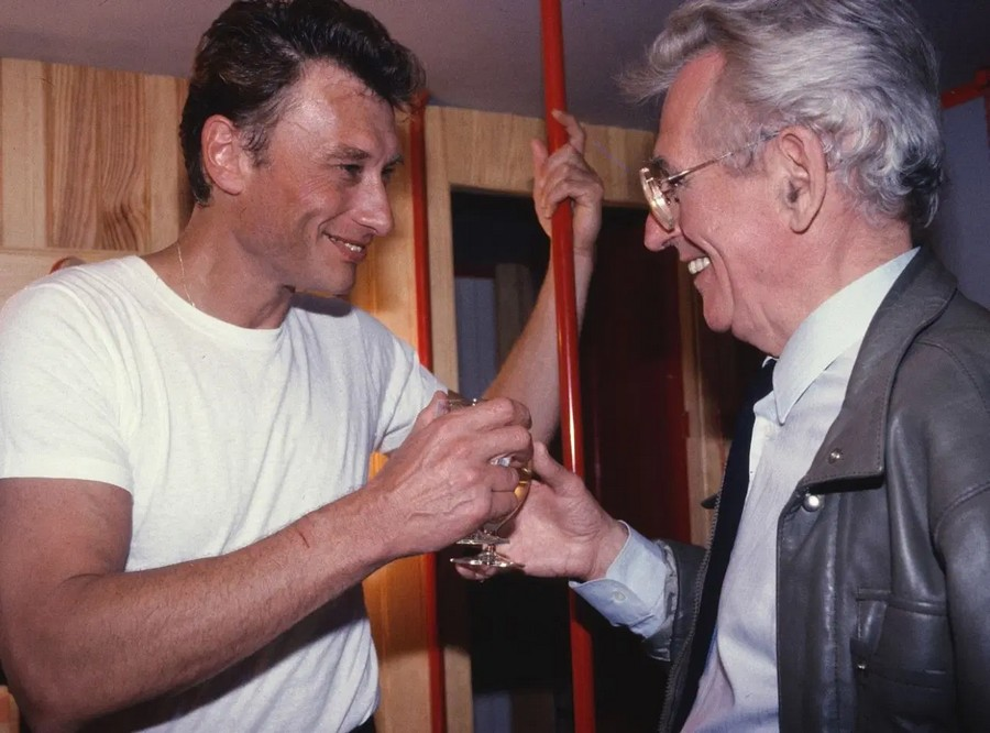 LES CONCERTS DE JOHNNY 'FETE DE L'HUMANITE, LA COURNEUVE 1985' Sans_408