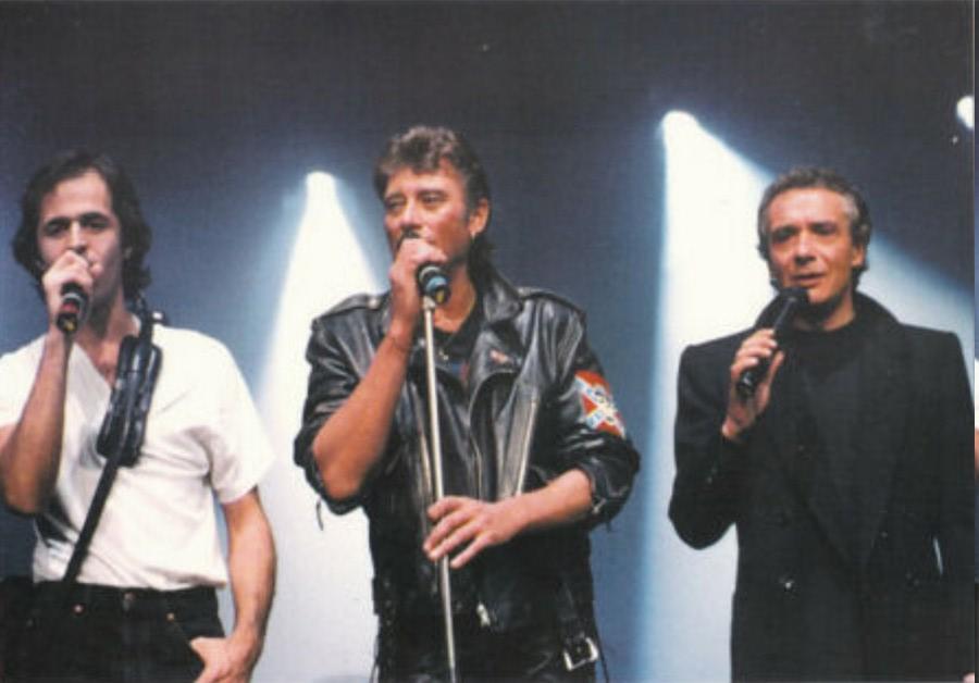 LES CONCERTS DE JOHNNY 'TOURNEE D'ENFOIRES, ZENITH 1989' Sans_411