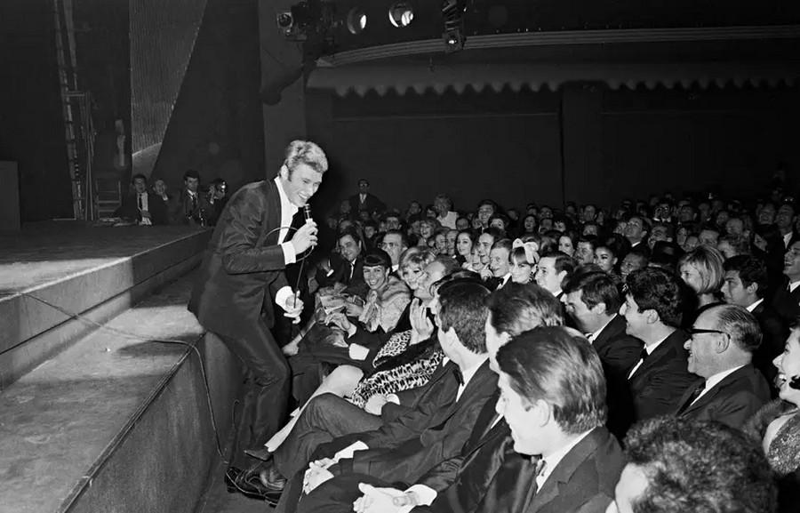 LES CONCERTS DE JOHNNY 'OLYMPIA DE PARIS 1964' Sans_484
