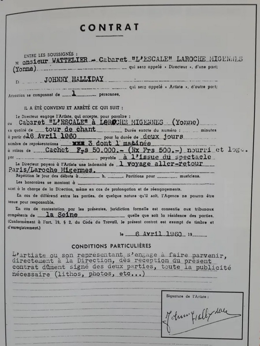 LES CONCERTS DE JOHNNY 'MIGENNES 1960' Sans_506