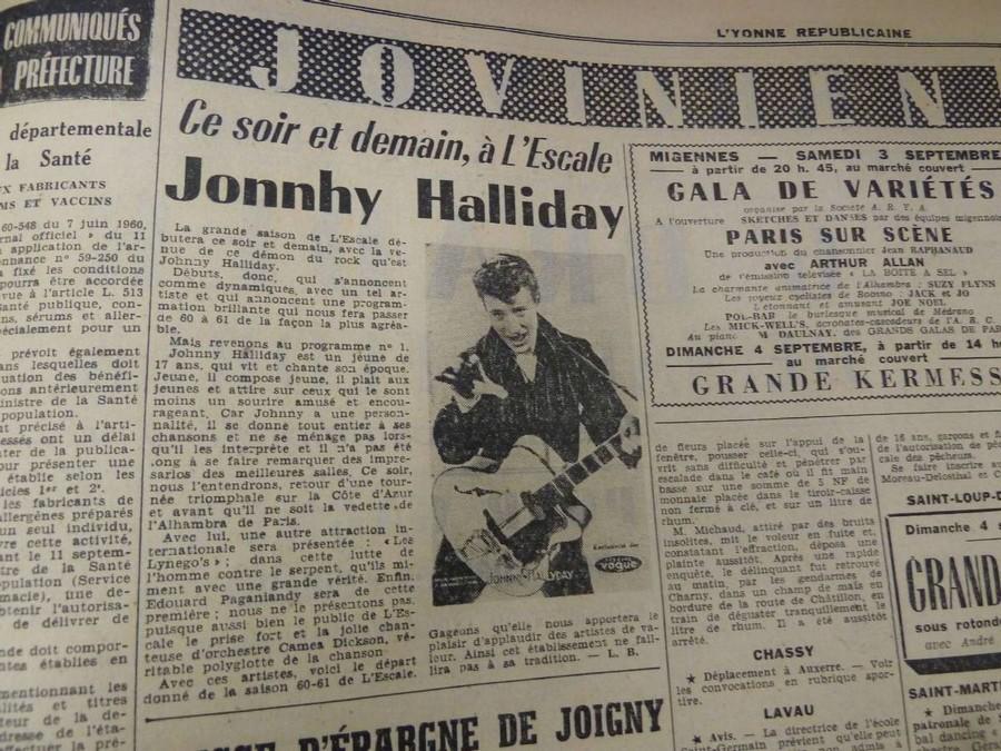 LES CONCERTS DE JOHNNY 'MIGENNES 1960' Sans_510