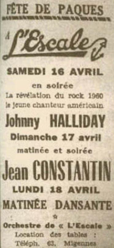 LES CONCERTS DE JOHNNY 'MIGENNES 1960' Sans_783