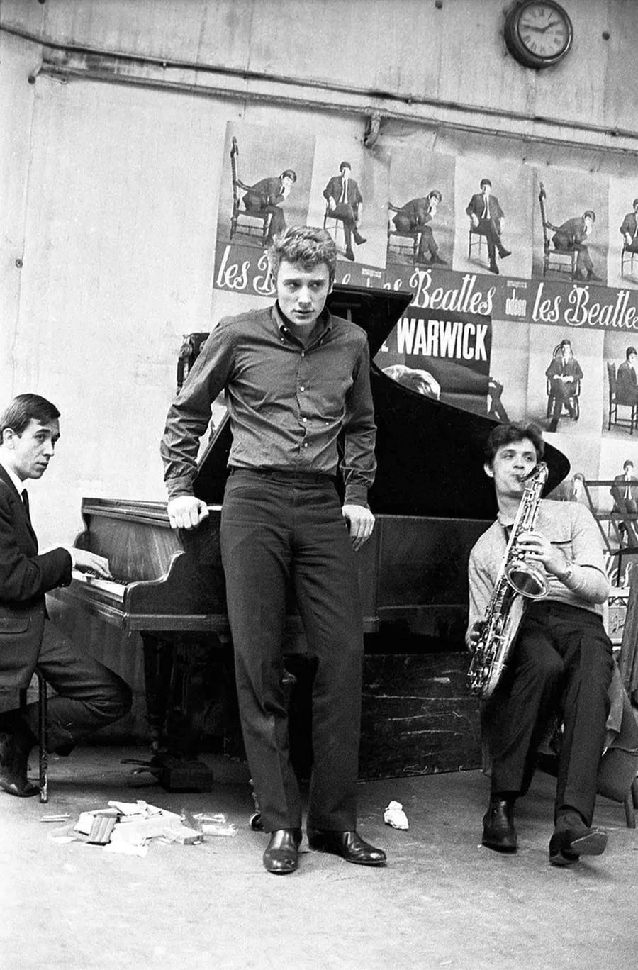 LES CONCERTS DE JOHNNY 'OLYMPIA DE PARIS 1964' Sans_824