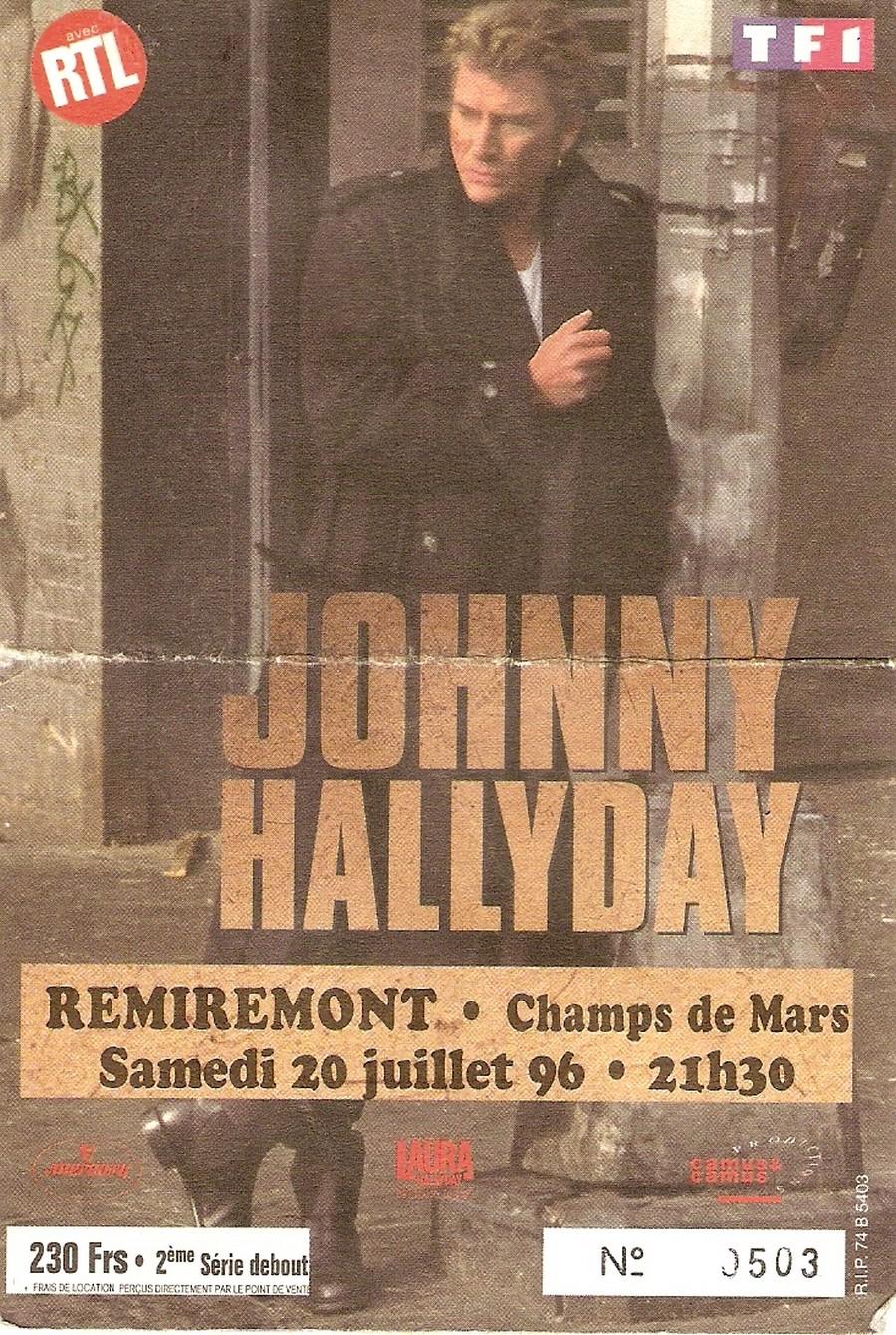 LES CONCERTS DE JOHNNY 'REMIREMONT 1996' Sans_869