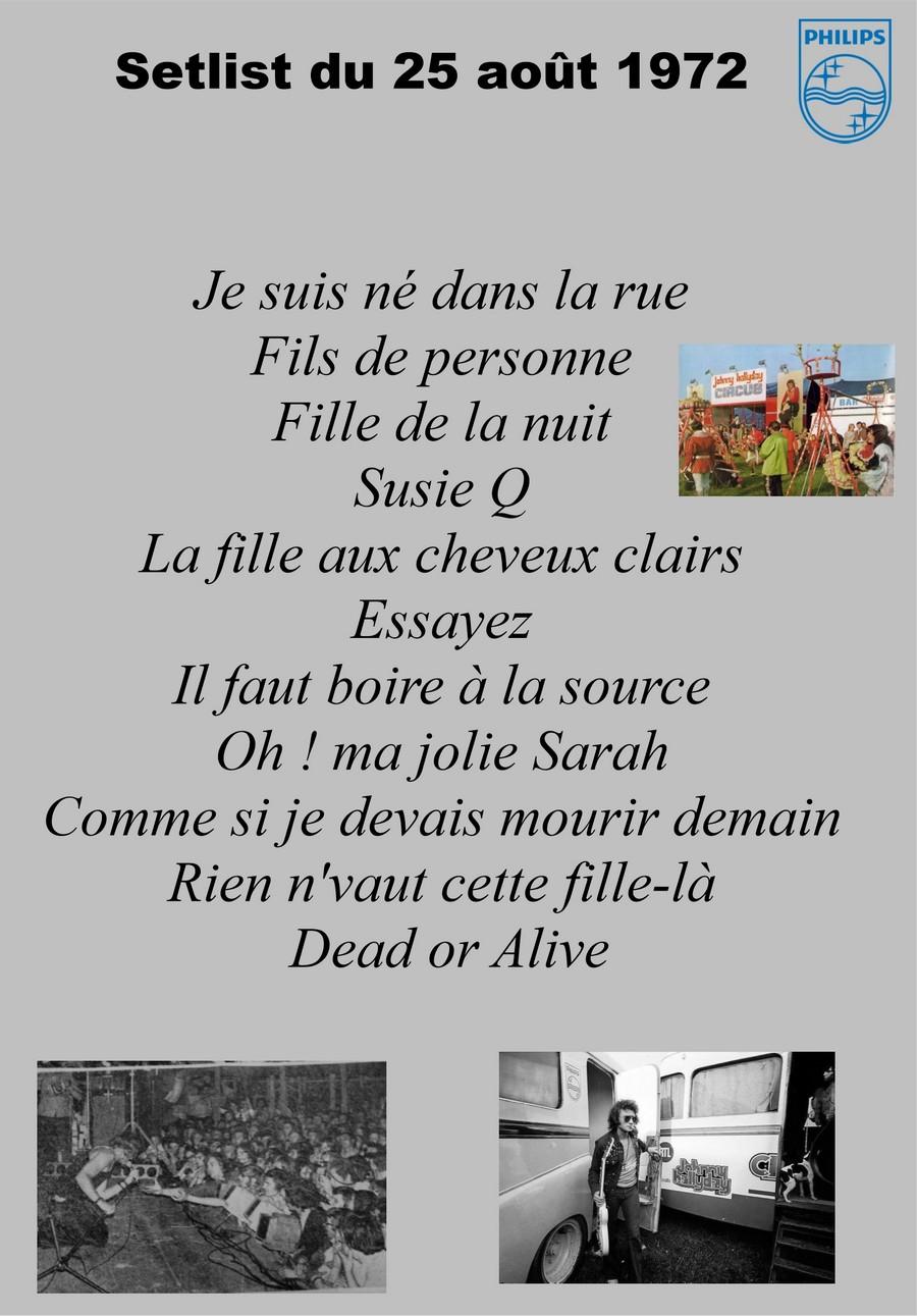 LES CONCERTS DE JOHNNY 'SAINT-LO 1972' Setli183