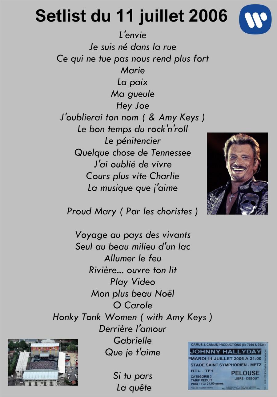 LES CONCERTS DE JOHNNY 'METZ 2006' Setli219