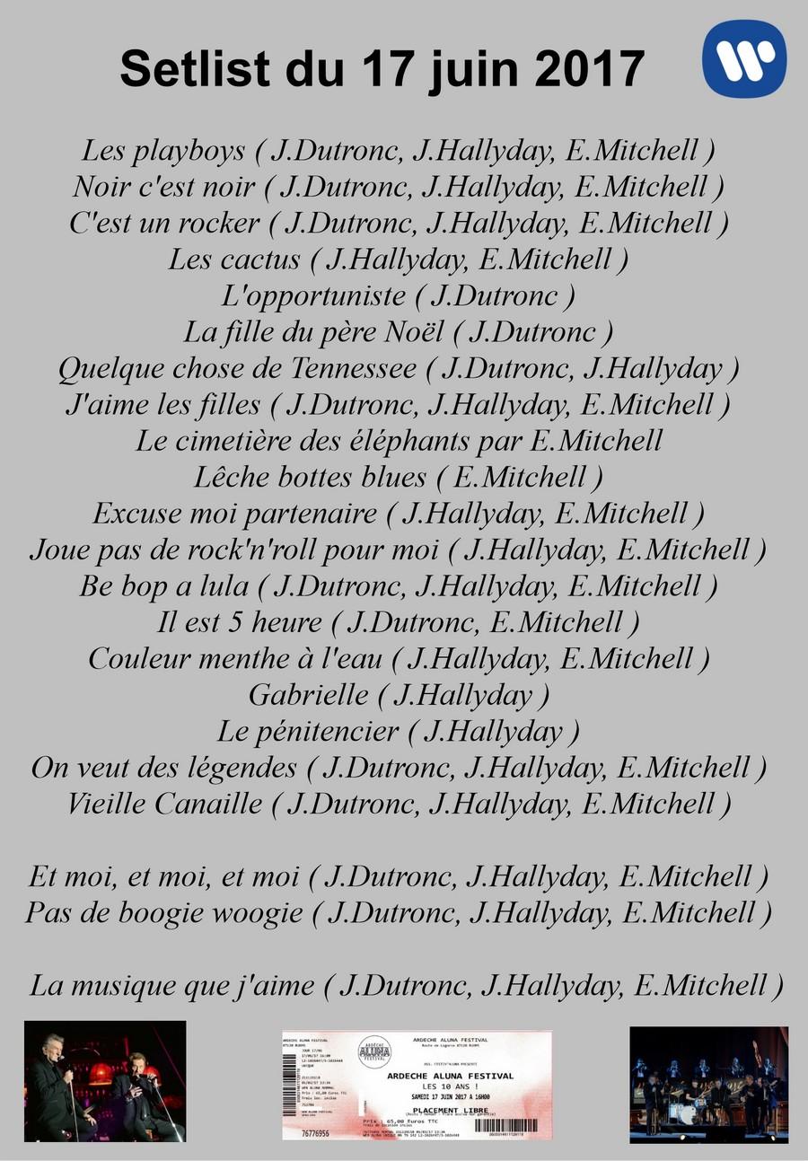 LES CONCERTS DE JOHNNY 'LES VIEILLES CANAILLES - 'RUOMS 2017' Setli249