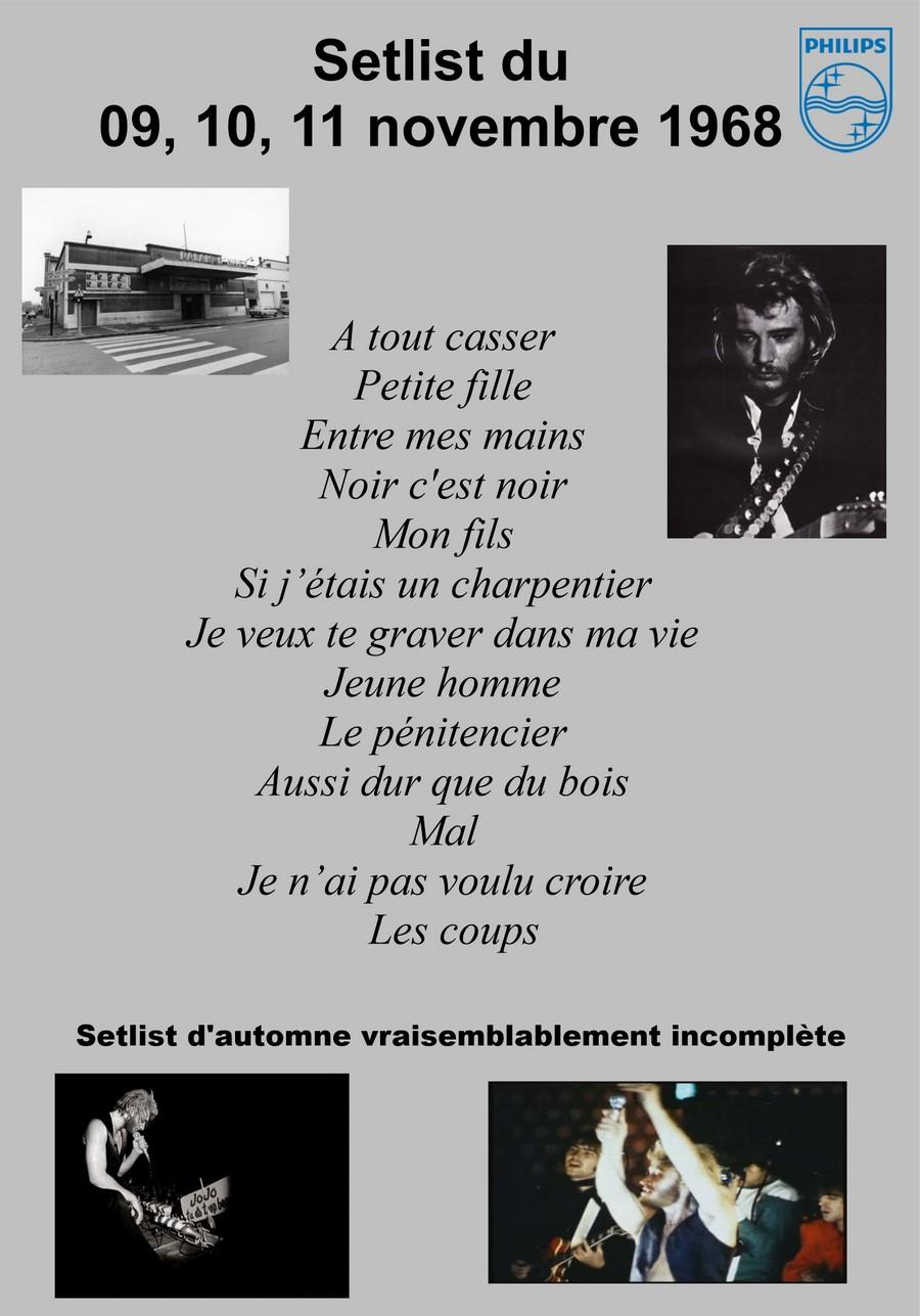 LES CONCERTS DE JOHNNY 'PALAIS D'HIVER DE LYON 1968' Setli318