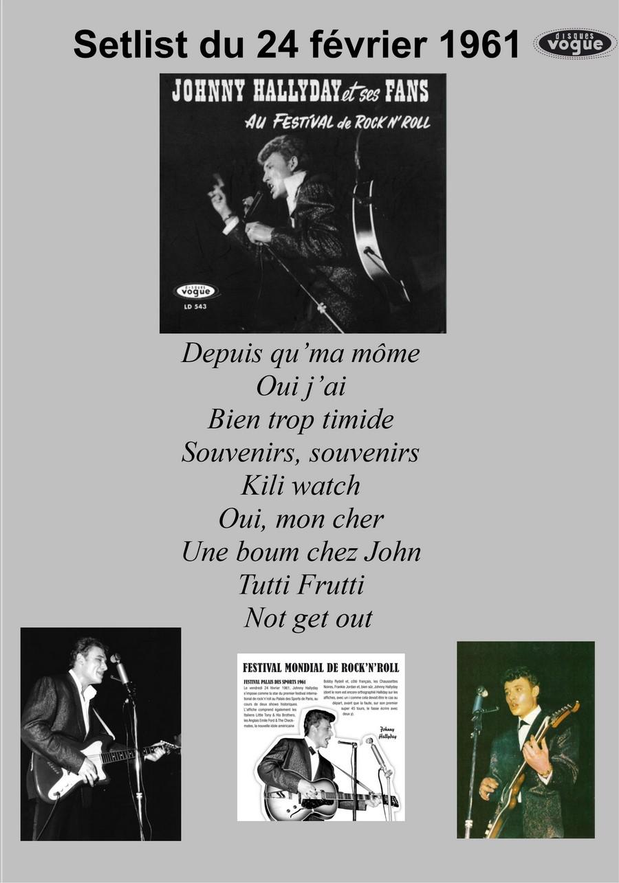 LES CONCERTS DE JOHNNY 'PALAIS DES SPORTS 1961' Setlis18