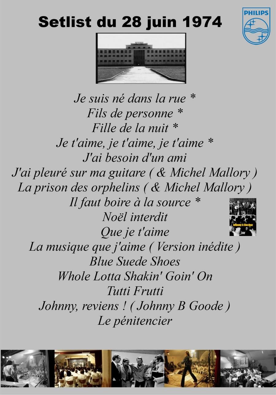 LES CONCERTS DE JOHNNY 'PRISON DE BOCHUZ, SUISSE 1974' Setlis37