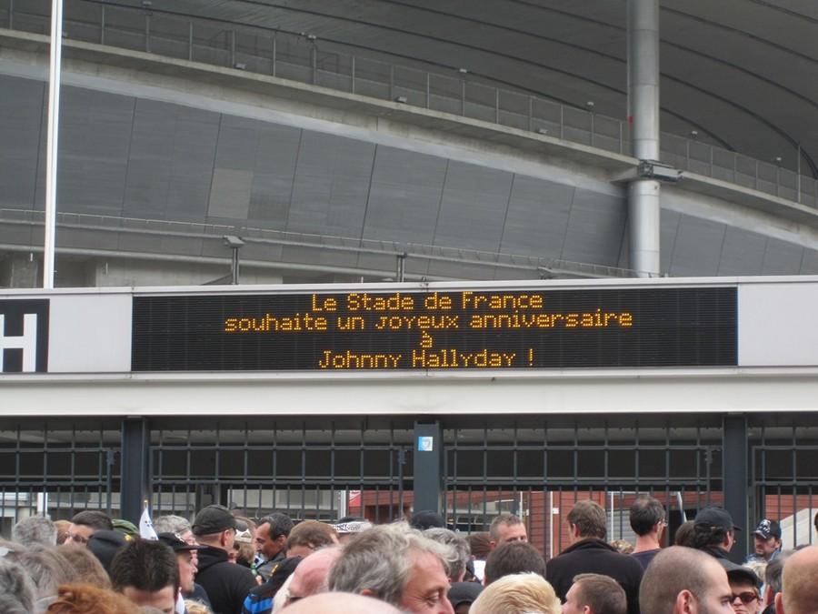 LES CONCERTS DE JOHNNY 'STADE DE FRANCE, SAINT-DENIS 2012' Stadde11