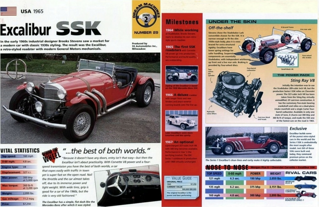 EXCALIBUR SSK 100 DE JOHNNY HALLYDAY ( 1966 ) Story_12