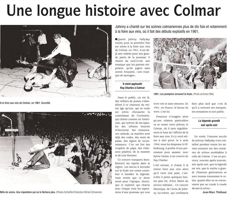 LES CONCERTS DE JOHNNY 'COLMAR 1961' Supple10