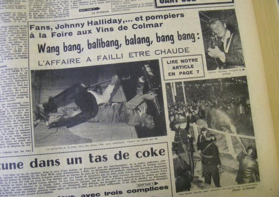 LES CONCERTS DE JOHNNY 'COLMAR 1961' Title-16