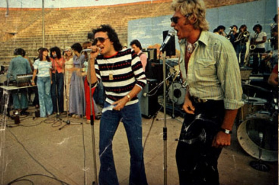 LES CONCERTS DE JOHNNY 'BEZIERS 1974' Tour7411