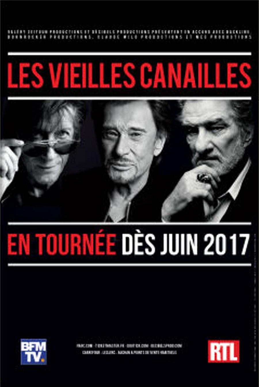 LES CONCERTS DE JOHNNY 'LES VIEILLES CANAILLES - 'STRASBOURG 2017' Vieill48