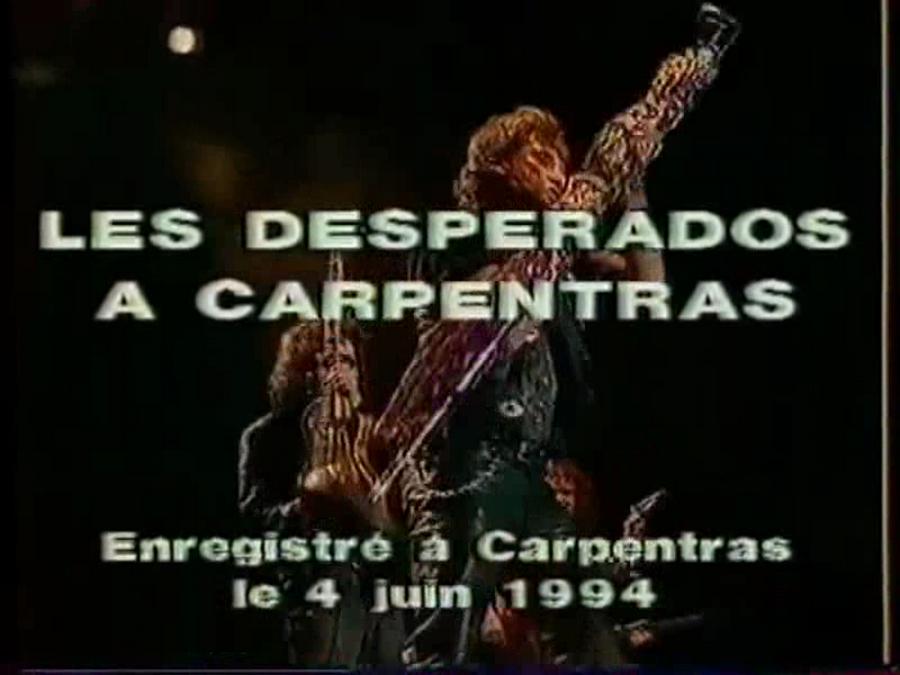 LES CONCERTS DE JOHNNY 'CARPENTRAS, 1994' Vlcs1261
