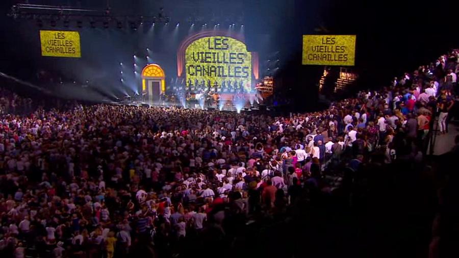 LES CONCERTS DE JOHNNY 'LES VIEILLES CANAILLES - 'ACCORHOTELS ARENA 2017' Vlcs1538