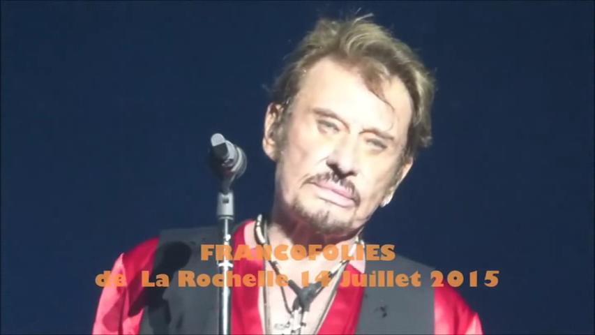 LES CONCERTS DE JOHNNY 'LES FRANCOFOLIES DE LA ROCHELLE 88, 91, 93, 96, 2015' Vlcs1846