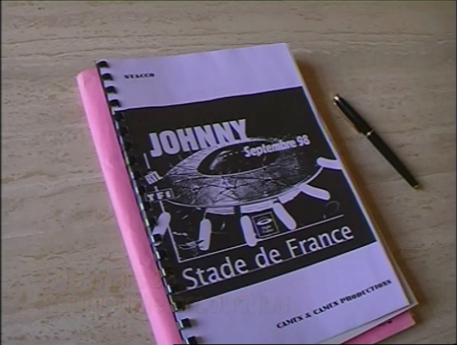 LES CONCERTS DE JOHNNY 'STADE DE FRANCE, SAINT-DENIS 1998' Vlcs2342