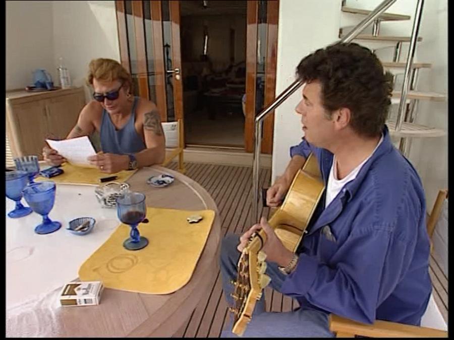 LES BATEAUX DE JOHNNY HALLYDAY 'ONLY YOU I' ( 1996 ) Vlcsn234