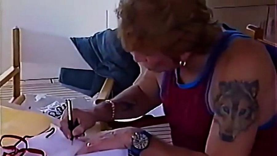 LES BATEAUX DE JOHNNY HALLYDAY 'ONLY YOU I' ( 1996 ) Vlcsn266