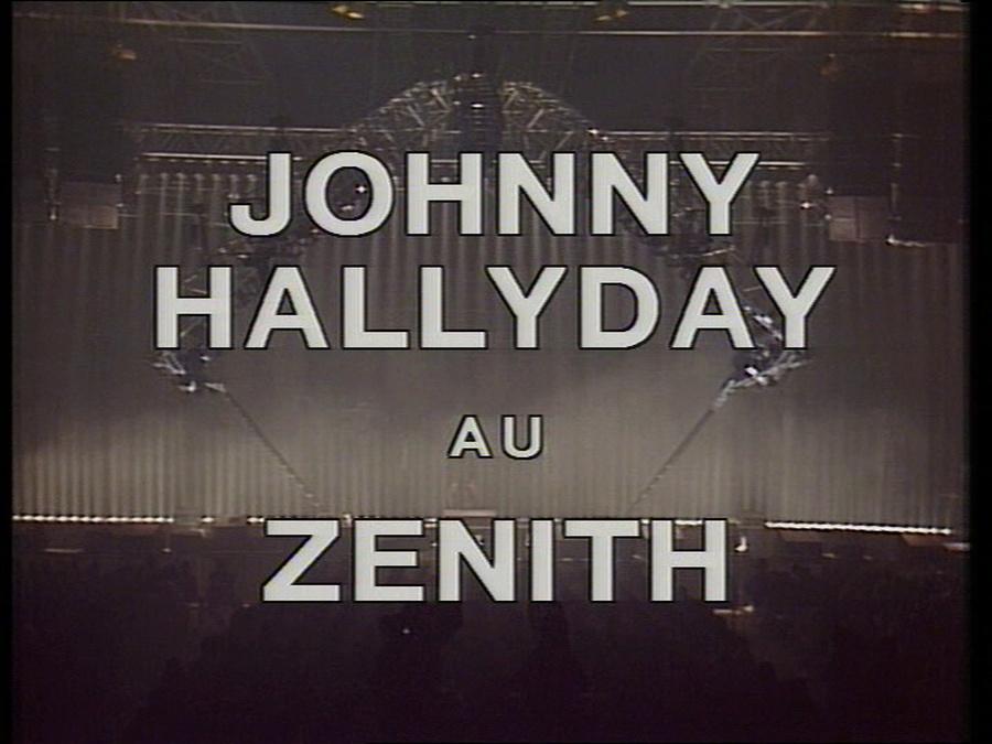 LES CONCERTS DE JOHNNY 'LE ZENITH DE PARIS 1984' Vlcsn399