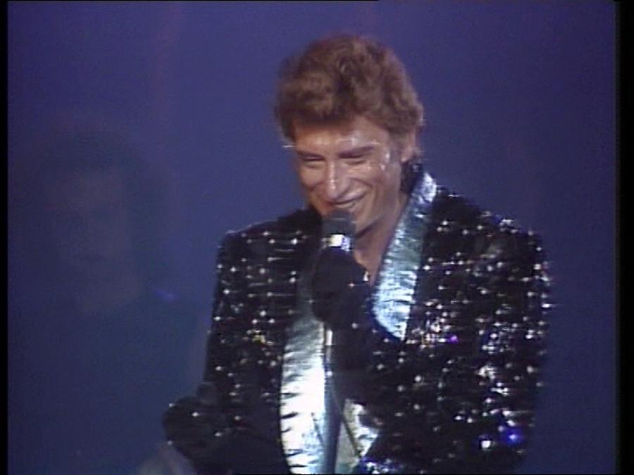 LES CONCERTS DE JOHNNY 'LE ZENITH DE PARIS 1984' Vlcsn406