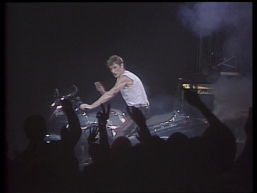 LES CONCERTS DE JOHNNY 'LE ZENITH DE PARIS 1984' Vlcsn419