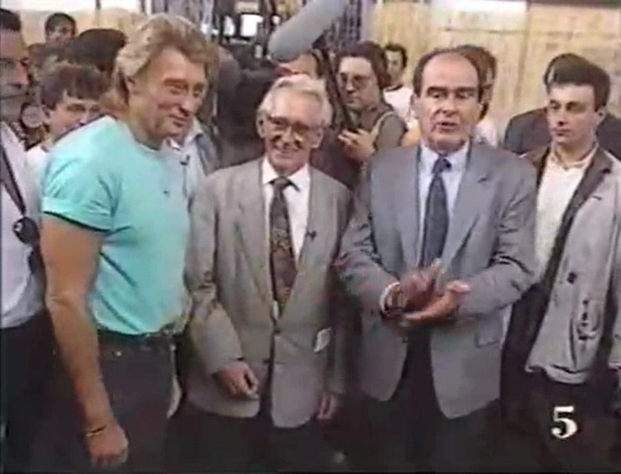 LES CONCERTS DE JOHNNY 'FETE DE L'HUMANITE, LA COURNEUVE 1991' Vlcsn461