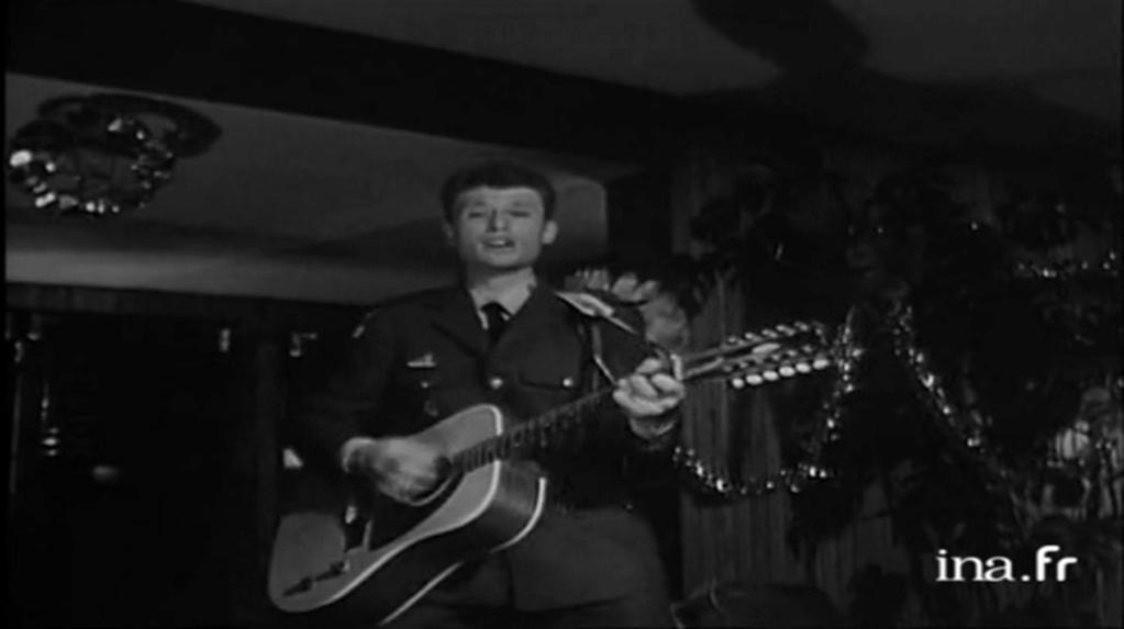 PROPRIETE OU A RESIDE JOHNNY HALLYDAY 'GROSROUVRE ( 1963-1965 ) Vlcsn645