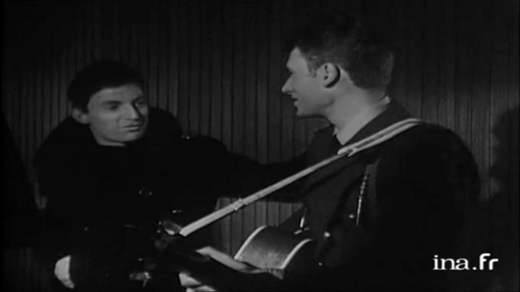 PROPRIETE OU A RESIDE JOHNNY HALLYDAY 'GROSROUVRE ( 1963-1965 ) Vlcsn648