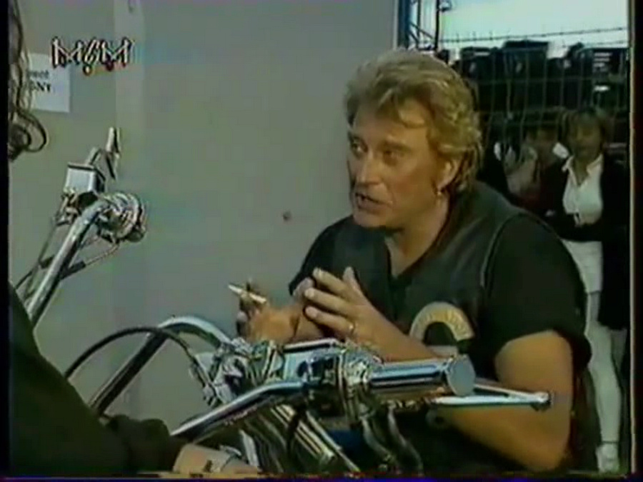 LES CONCERTS DE JOHNNY 'CARPENTRAS, 1994' Vlcsn824