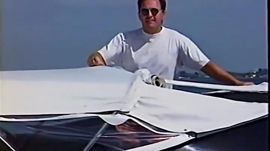 LES BATEAUX DE JOHNNY HALLYDAY 'WILD EAGLE II' ( 1995 ) Vlcsn847