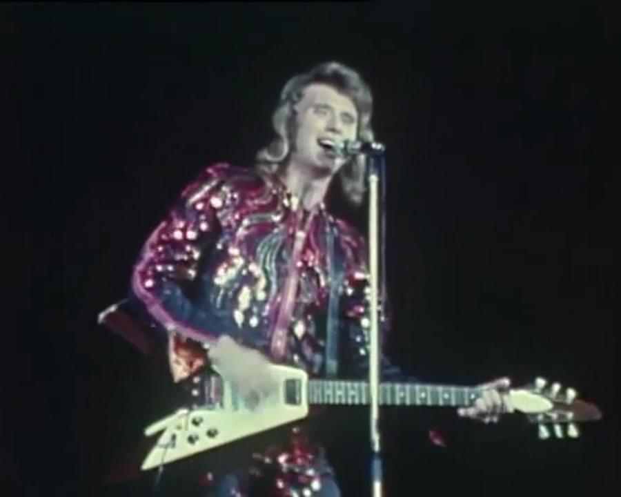 LES CONCERTS DE JOHNNY 'PALAIS DES SPORTS 1971' Vlcsn946