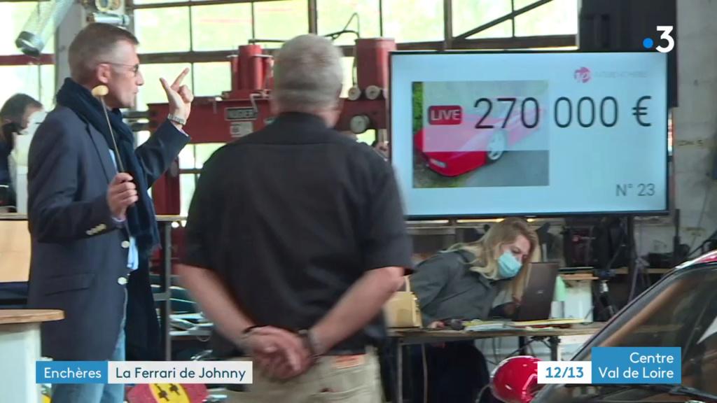 VENTE AUX ENCHERES DE LA FERRARI 512TR DE JOHNNY Vlcsna22